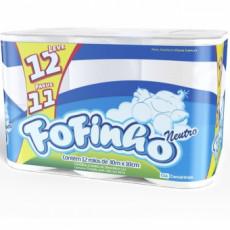 PAPEL HIGIÊNICO FOFINHO FOLHA SIMPLES