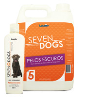 SHAMPOO SEVEN DOGS PELOS ESCUROS
